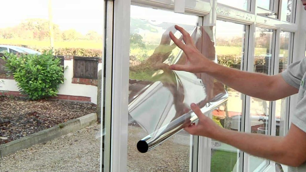 DIY window film