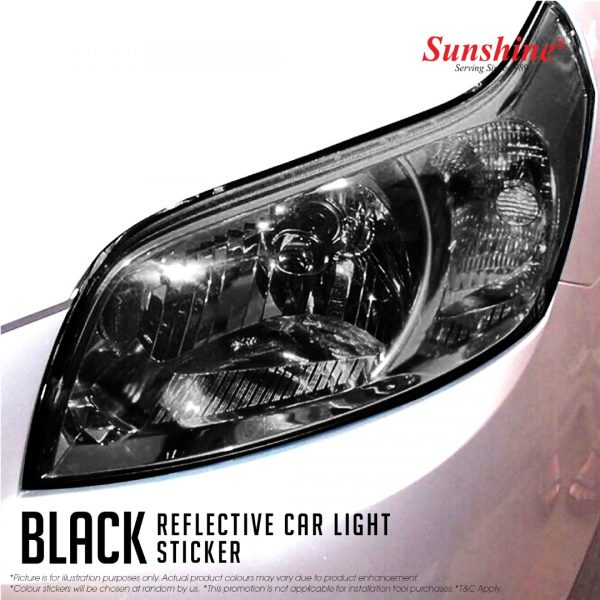 Black Head Lamp Tinted