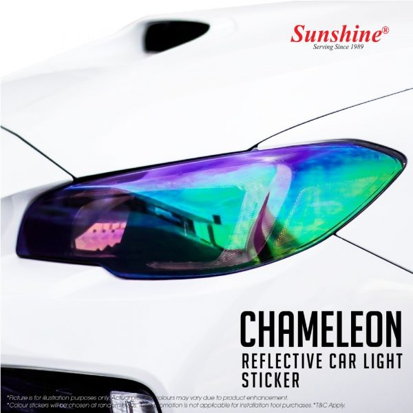 Chameleon Head Lamp Tinted