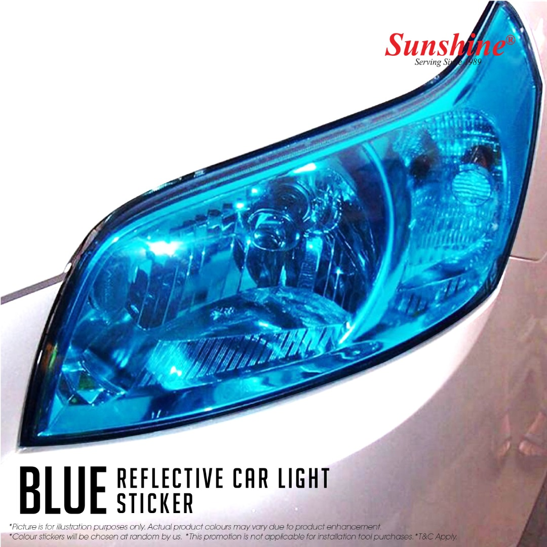 Blue Head Lamp Tinted