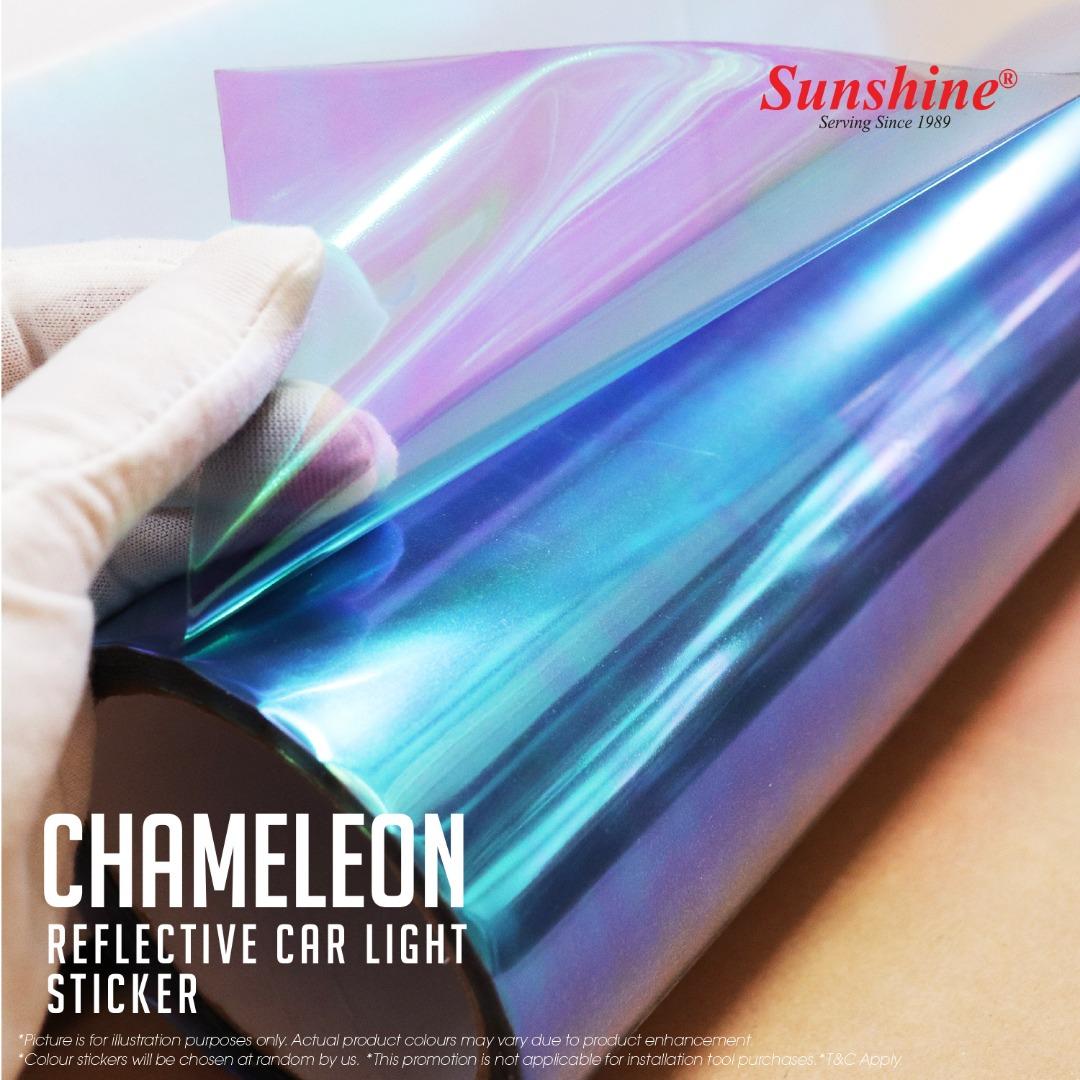 Chameleon Head Lamp Tinted