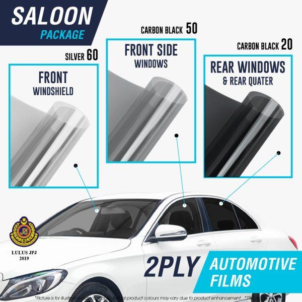 Salon car 2ply film