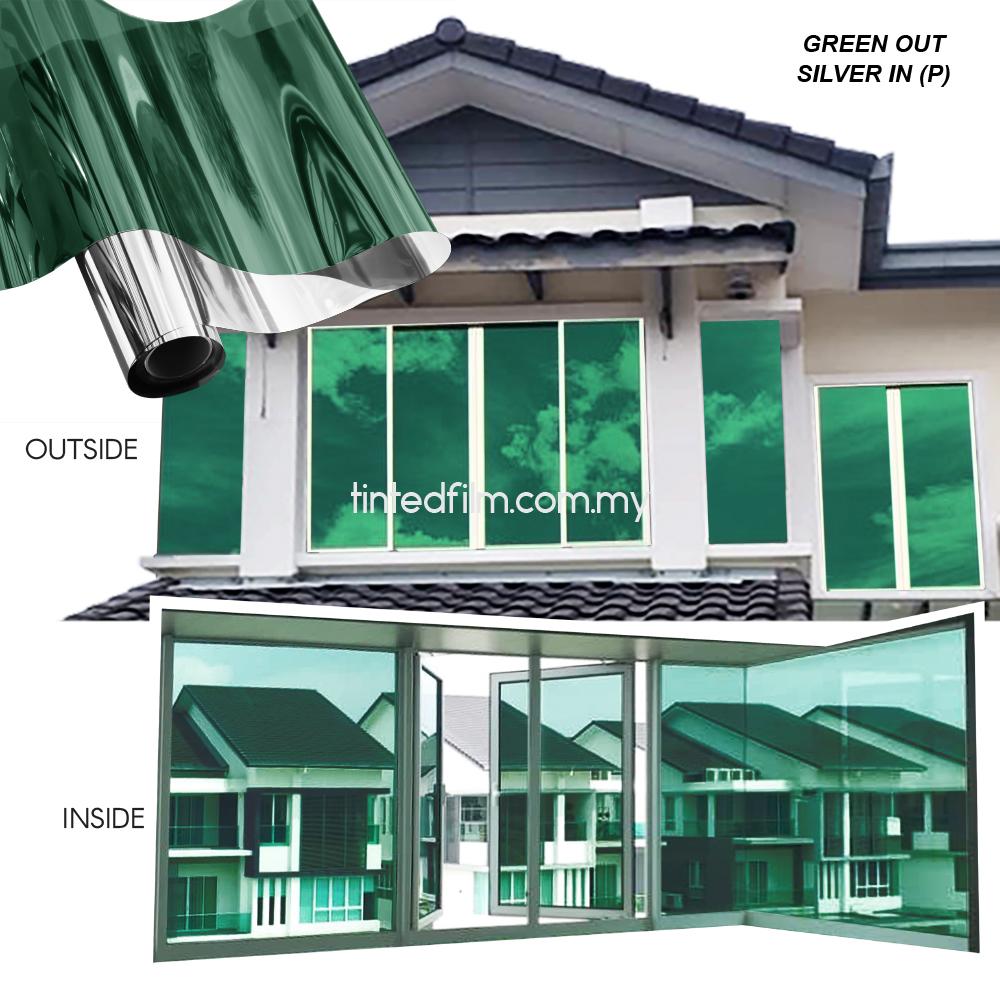 green tinted film
