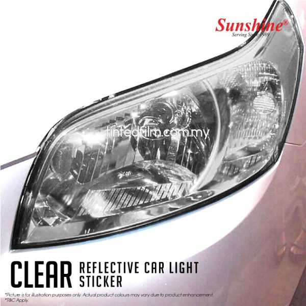 clear car head lamp